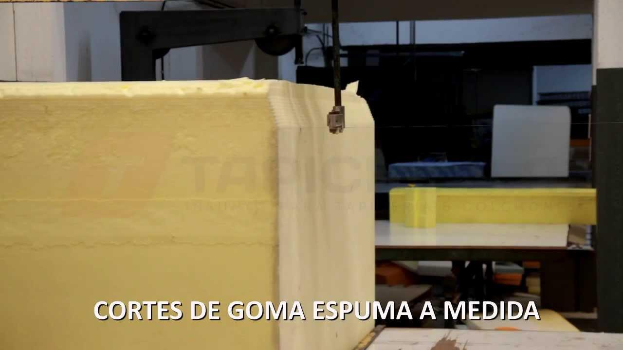 tapicel s a cortes de goma espuma a medida fabrica de