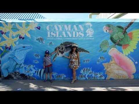 Georgetown Grand Cayman Cruise Port Area Tour (4K)