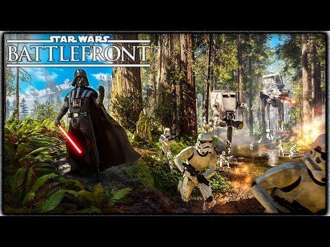 Star Wars Battlefront Gameplay! ENDOR, NEW HEROES & VILLIANS & MORE GAMEMODES!
