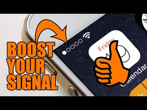 Secret hack to boost your cell phone Signal and increase the reception on  your iPhone