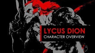SPACELORDS:LYCUS DION CHARACTER OVERVIEW