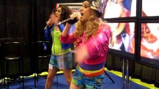 Chic and Sassy performing at The Original GLBT Expo Video Lounge 2010