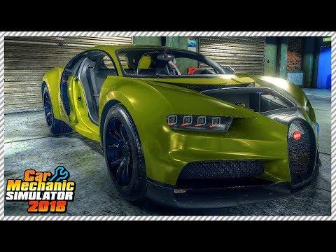 Junkyard Buggati Chiron Rescue - Car Mechanic Simulator 2018 | Ep. 17
