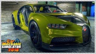Junkyard Buggati Chiron Rescue - Car Mechanic Simulator 2018   Ep. 17