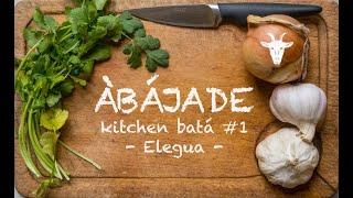 Kitchen batá #1 - Elegua