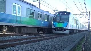 西武鉄道40102F 上り試運転 南入曽通過
