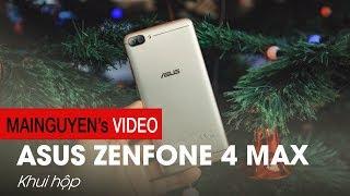 Khui hộp ASUS ZenFone 4 Max - Pin 4 ngày giá chưa tới 4 triệu - www.mainguyen.vn