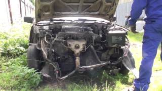 Nissan Sunny N13 1990 engine testing