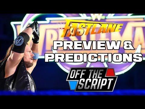 ZIGGLER NEW WWE CHAMP!? WWE Fastlane 2018 Full Show Predictions | Off The Script 212 Part 3