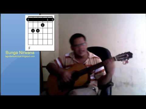 belajar gitar otodidak - bunga nirwana melayu deli tiar ramon belajar gitar akustik