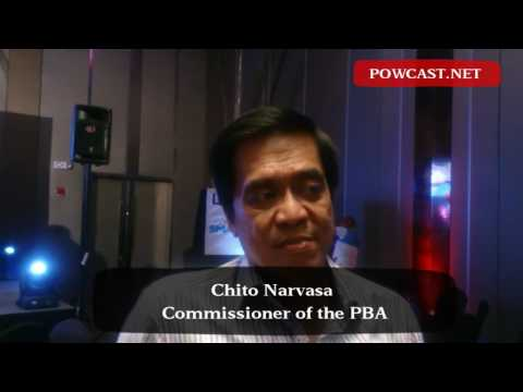 Chito Narvasa talks about 2016 PBA Governors Cup and plans to improve social media engagements