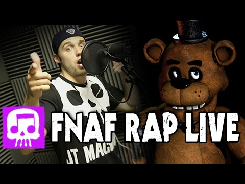 """Five Nights At Freddy's Rap LIVE By JT Music - """"Five Long Nights"""""""