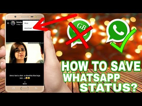 How To Save And Download Whatsapp Status Video? Without Gb Whatsapp