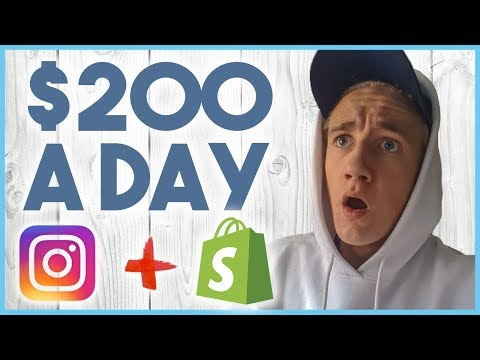 😎 STEP BY STEP TO $200 A DAY ON INSTAGRAM - INFLUENCER MARKETING 😎