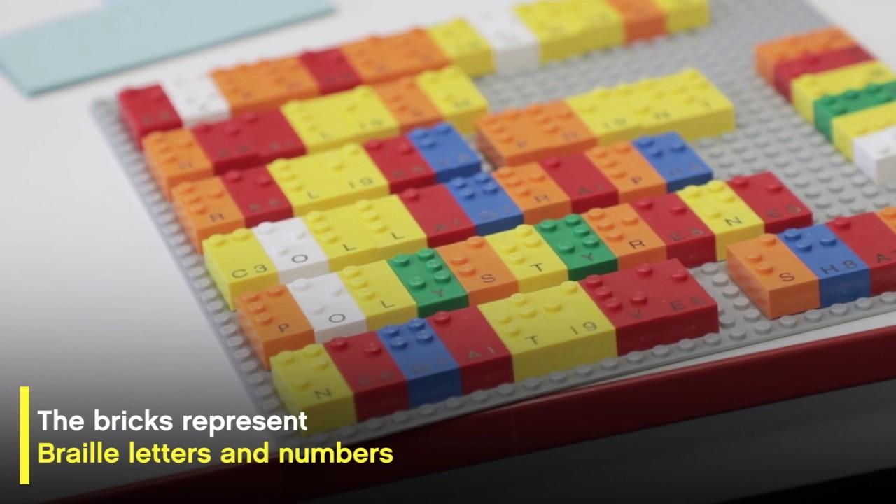 How LEGO® Braille Bricks help kids learn!
