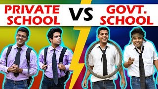 PRIVATE SCHOOL vs GOVERNMENT SCHOOL | The Half-...