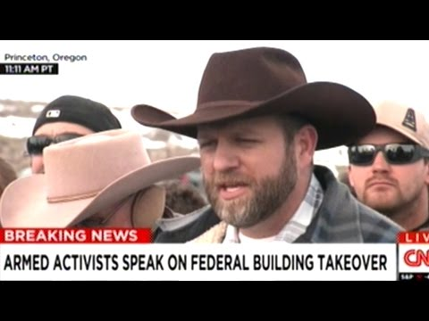 Armed Protesters Occupying Federal Wildlife Refuge Hold Press Conference