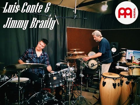 """Luis Conte"" and ""Jimmy Branly"" Part 1 ""MEINL Percussion"""