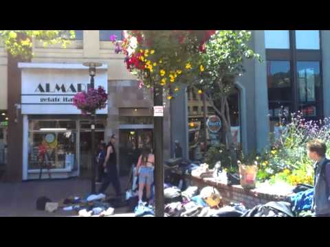 Street life in Downtown Berkeley
