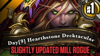Day[9] HearthStone Decktacular #126 - Slightly updated Mill Rogue P1