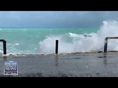 Weather In St George's As Hurricane Epsilon Approaches, Oct 22 2020