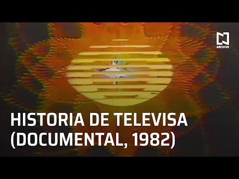 Historia de la televisión en México y de Televisa (1982) - Documental corto