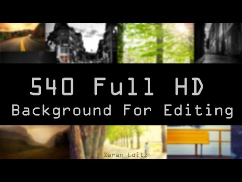 How to Download 500+ HD Backgrounds For Editing