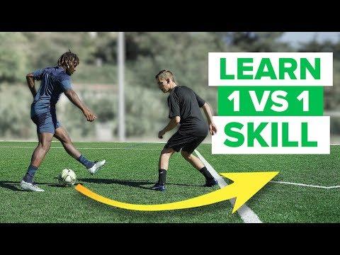 LEARN ADVANCED 1 VS 1 FOOTBALL SKILLS | play like a pro