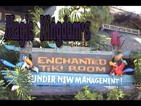 Enchanted Tiki Room Under New Management with Iago & Zazu