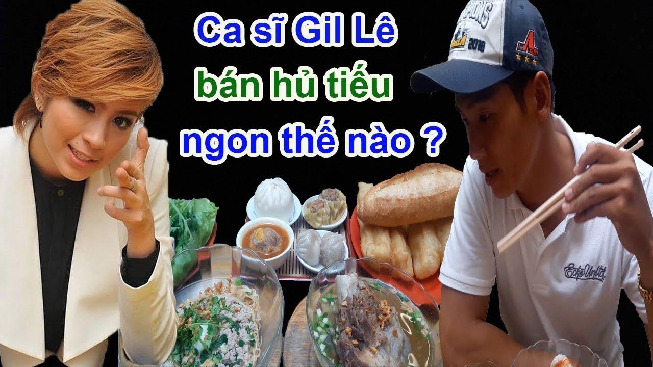 Ca sĩ Gil Lê bán hủ tiếu 100k đắt nhất Sài Gòn ăn như thế nào? – Guufood