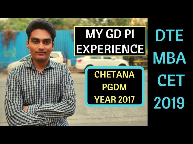 My GD PI experience at Chetana's Institute (CIMR). Better than Welingkar PGDM ? Check it out