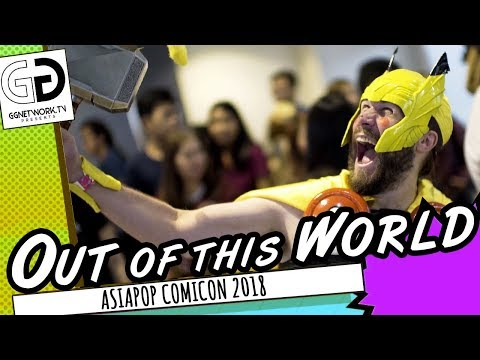 AsiaPOP Comicon 2018 | Out of this World Cosplay