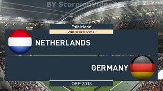 Olanda Vs Germania  - UEFA Nations League  | PES 2019/18 Patch