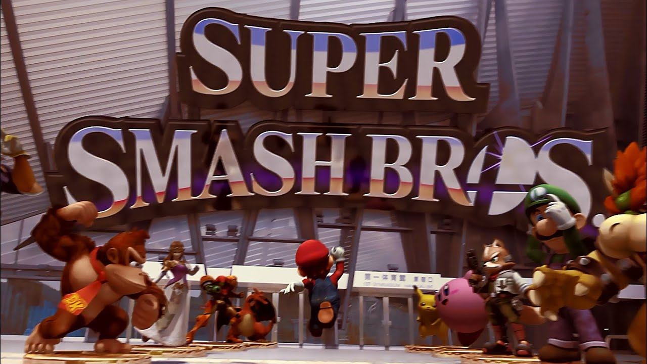 Super Smash Bros. - Mario Jumps into Battle! (Wii U & Nintendo 3DS). Fan Trailer