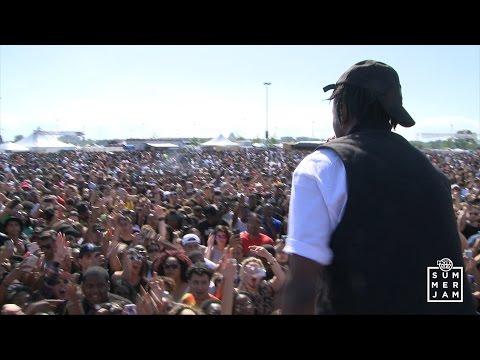 JOEY BADA$$ and Pro Era live at Summer Jam 2015