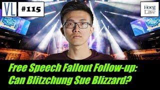 A Blizzard of Backlash (Pt. 2): Can Blitzchung Sue Blizzard? (VL115)