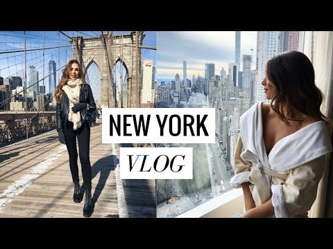 NEW YORK CITY TRAVEL DIARY | VLOG #10 | Annie Jaffrey