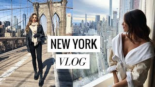 NEW YORK CITY TRAVEL DIARY | VLOG #10 | Annie Jaffrey