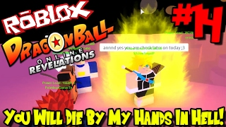 YOU WILL DIE BY MY HANDS IN HELL! | Roblox: Dragon Ball Online Revelations UPDATE - Episode 14