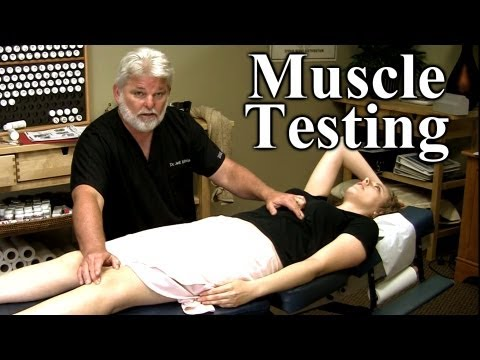 Improve Athletic Performance, Pain Referral, Muscle Testing Demonstration, By Austin Chiropractor
