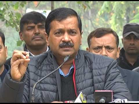 Full Video of Arvind Kejriwal press conference at Press Club Chandigarh on 17 January