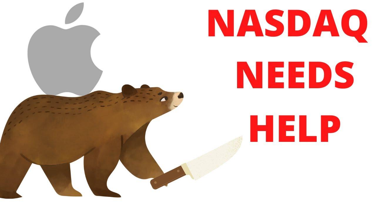 🥶 Negative Apple News!  🥶 // SP500 Nasdaq 100 (SPY QQQ) IWM // Stock Market Analysis