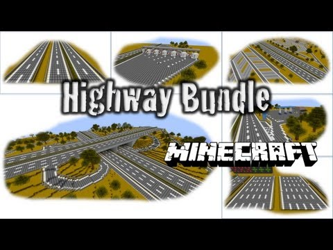 Minecraft - Highway (Autobahn) Bundle HD