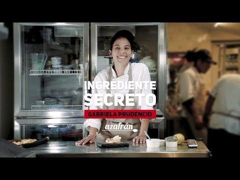 Ingrediente secreto: Gabriela Prudencio