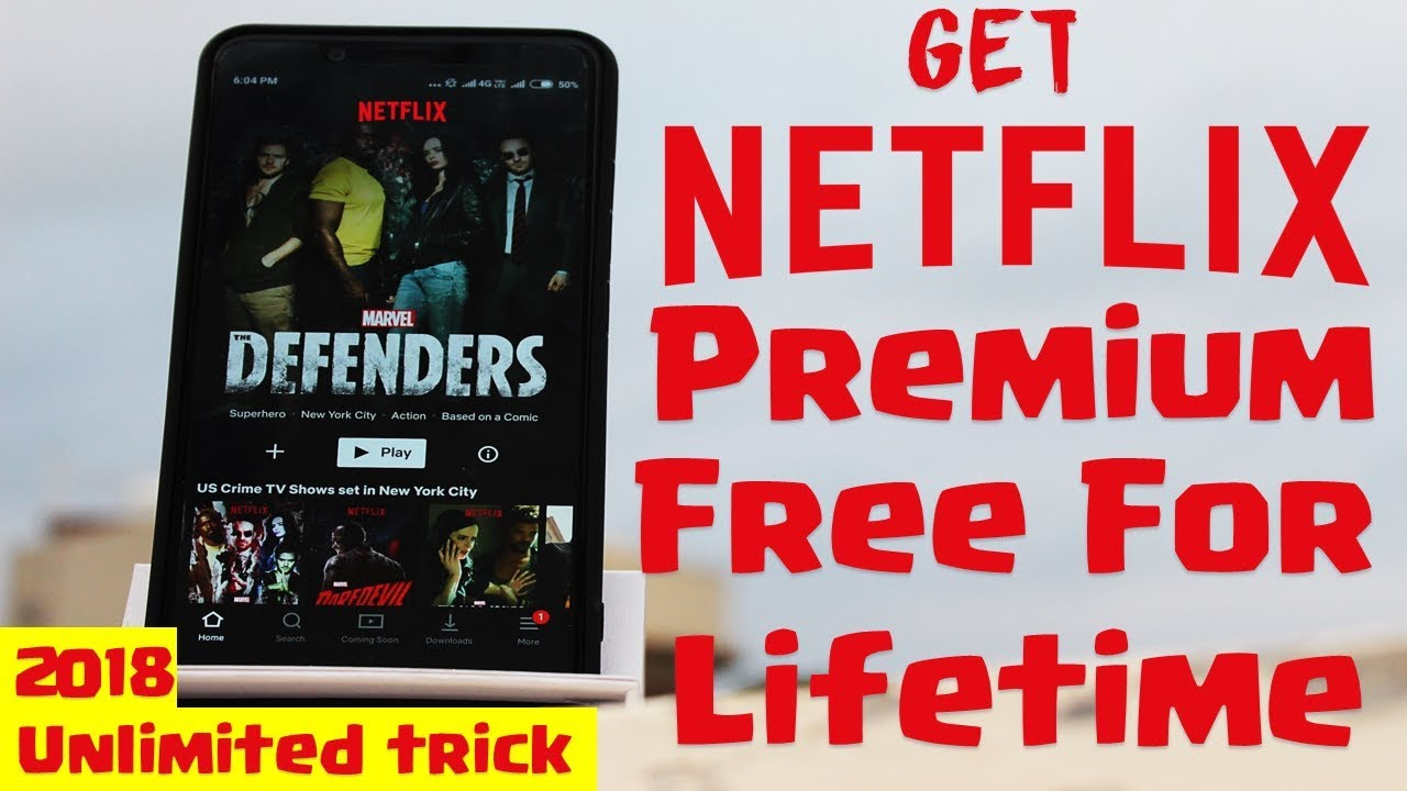 How to get free Netflix Premium Account September 2018 | Unlimited Trick|  Virtual Card Method |