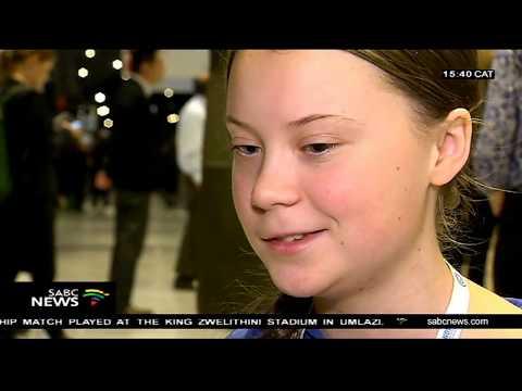Young environmental activist Greta Thunberg makes her case at COP24