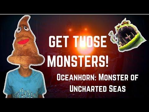 OHH NO! EPIC DOO-DOO MONSTER... OCEAN HORN Monster of Uncharted Seas - Nintendo Switch