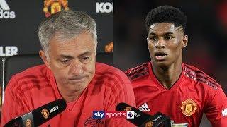 Jose Mourinho uses detailed stats to prove Marcus Rashford's playing time