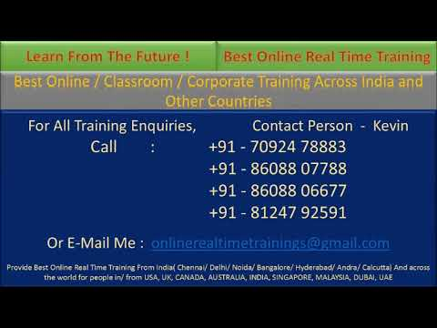 Best Oracle Fusion Middleware SOA Online Training In Chennai Hyderabad Bengaluru India.
