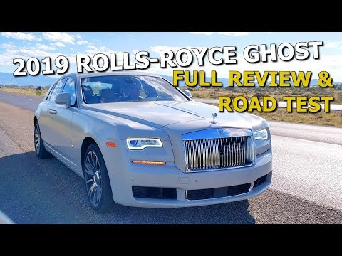 THE 2019 ROLLS-ROYCE GHOST IS THE BEST LUXURY CAR IN THE WORLD - Full Review